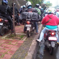 Trotoar sebagai Wajah Kota Bandar Lampung